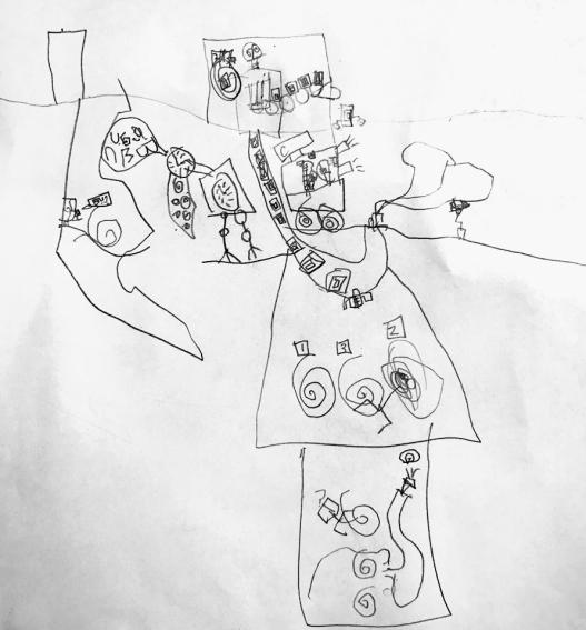 """""""Robot Scene"""" by Judah Hossain"""